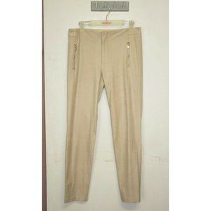 Zara Suede Tapered Pants